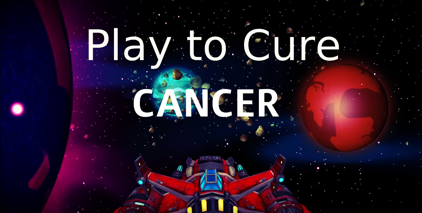Play to cure cancer mobile game